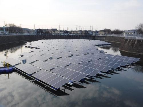 所沢市「フロート式太陽光発電設備設置運営事業」